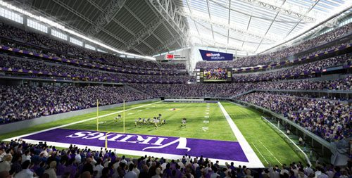 New Vikings Football Stadium First In The U S To Use