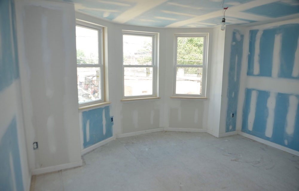 Materials used in Saint-Gobain and YouthBuild Philadelphia LEED Platinum home renovations