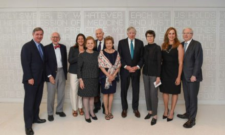 Columbia University Medical Center dedicates the Roy and Diana Vagelos Education Center