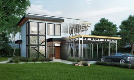 Hundreds tour BONE Structure's new net zero‐energy home in Stanford