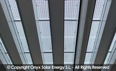 Frost & Sullivan commends Onyx Solar's innovative and proven building integrated photovoltaic glass.