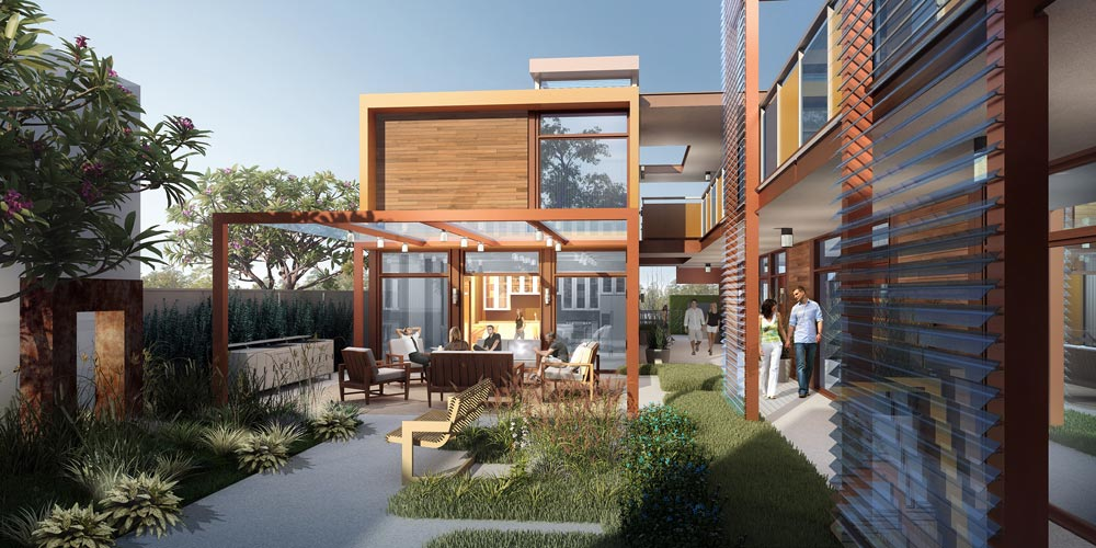 Sva architects receives two gold nugget design awards for for Small home builders tampa