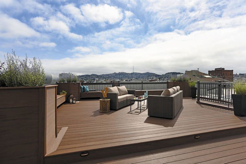 Azek 174 Deck And Pavers Transform Condo Rooftop Prism