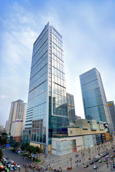 Chengdu Ifs Earns The First Leed Ebom Platinum
