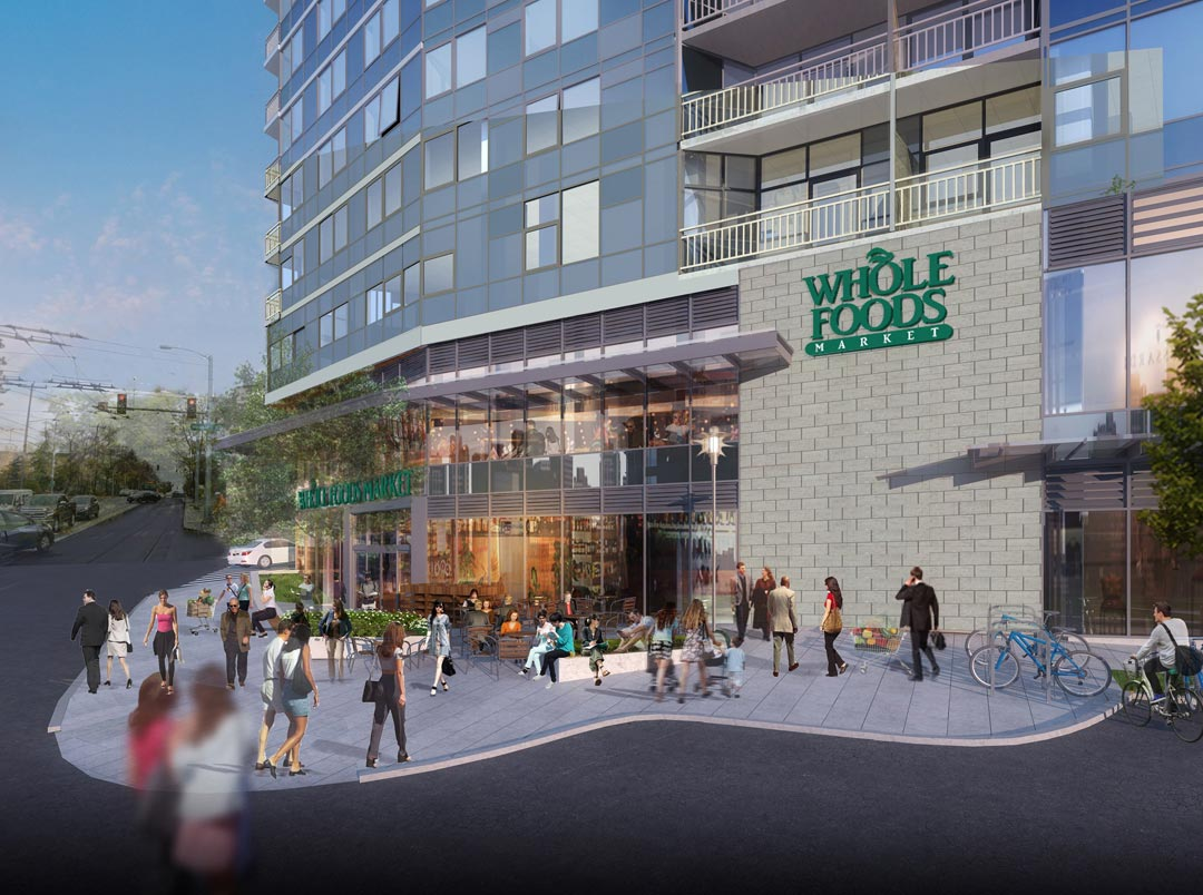 Construction Begins On The Danforth Apartment Tower And