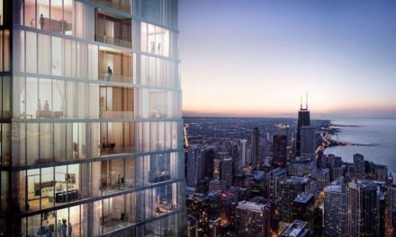 Chicago's 'Toblerone' tower will be tallest in the world designed by a woman