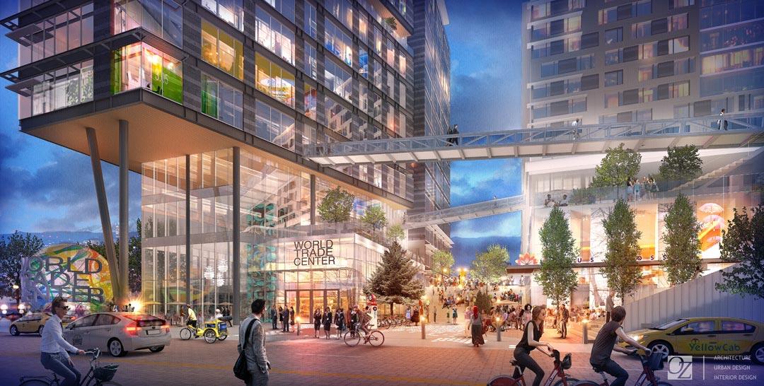 Oz Architecture S New World Trade Center Denver Design Prism