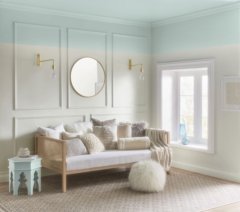 Lowes 5002 5B Dreamy Clouds Ace VR080E Snow In June Independent Retailers V102 1 This Sky Blue Is Soothing