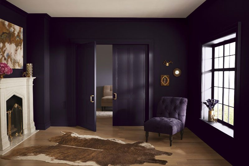 Lowes 4010 2 Twilight Purple Ace VR089A Black Currant Independent Retailers V125 6 This Deep Violet Has A Powerful Influence
