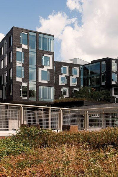 CMU's Gates Center achieved LEED Gold certification in 2011