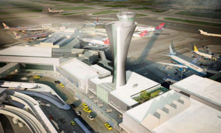 San Francisco International Airport's new air traffic control tower meets high-performance design and LEED Gold criteria