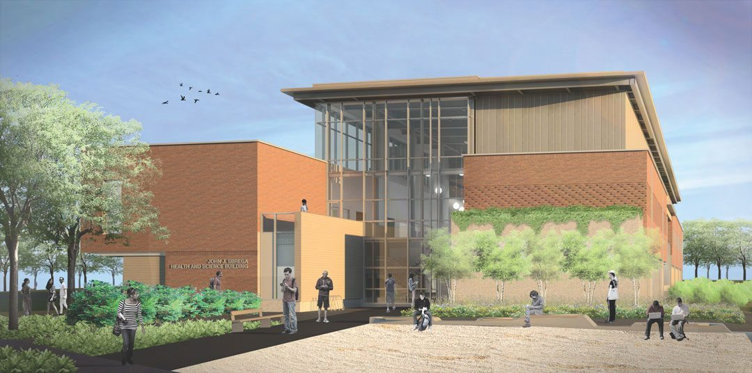 New England's first Zero Net Energy academic lab science building