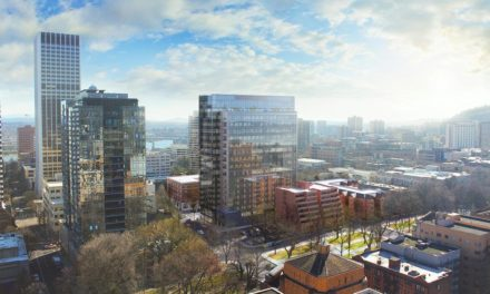 Howard S. Wright, a Balfour Beatty company, builds Broadway Tower for BPM Real Estate Group in downtown Portland