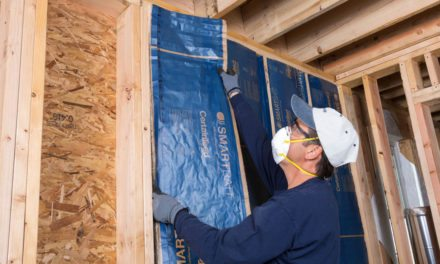 Moisture managing batt insulation from CertainTeed lets walls breathe