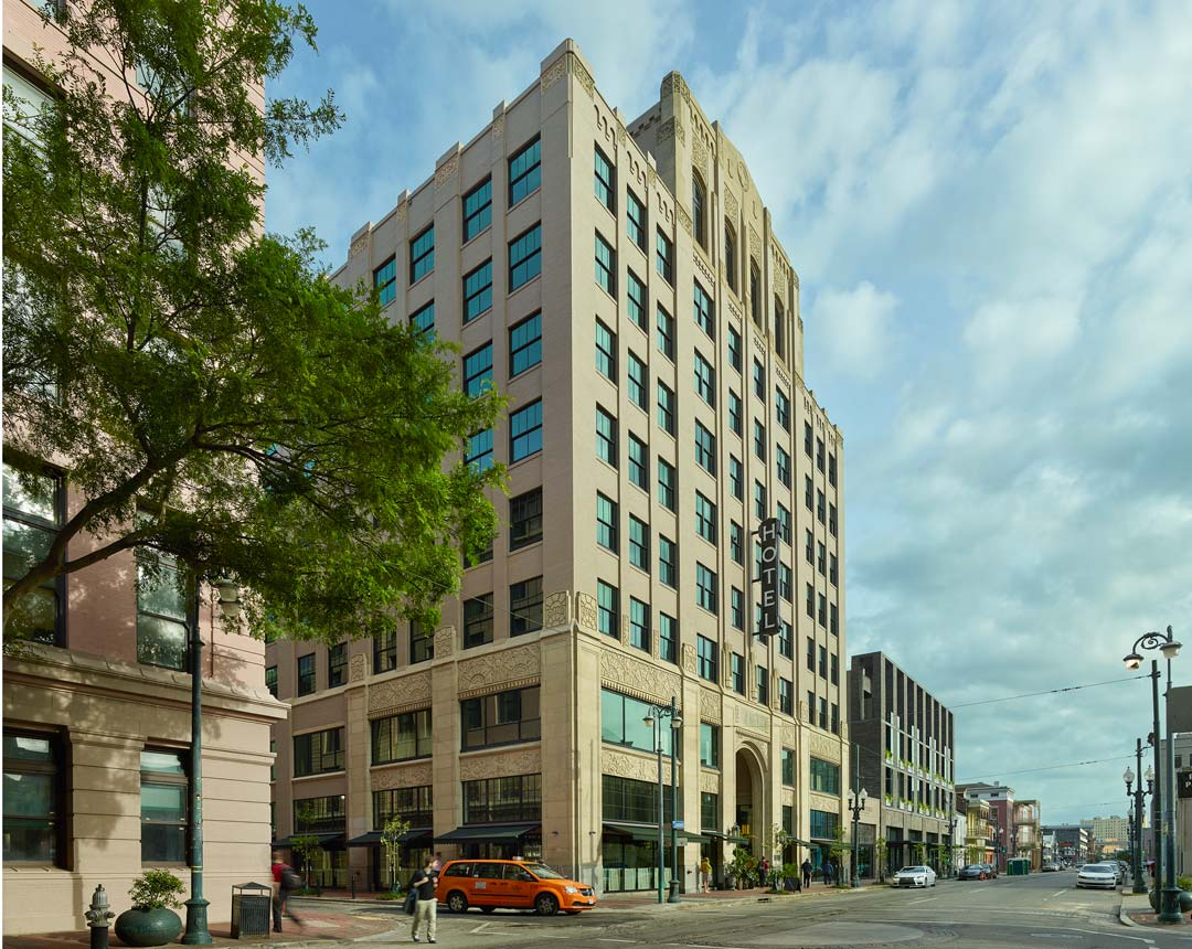 Ace Hotel New Orleans Restores Historic Art Deco Exterior And Updates Performance Prism