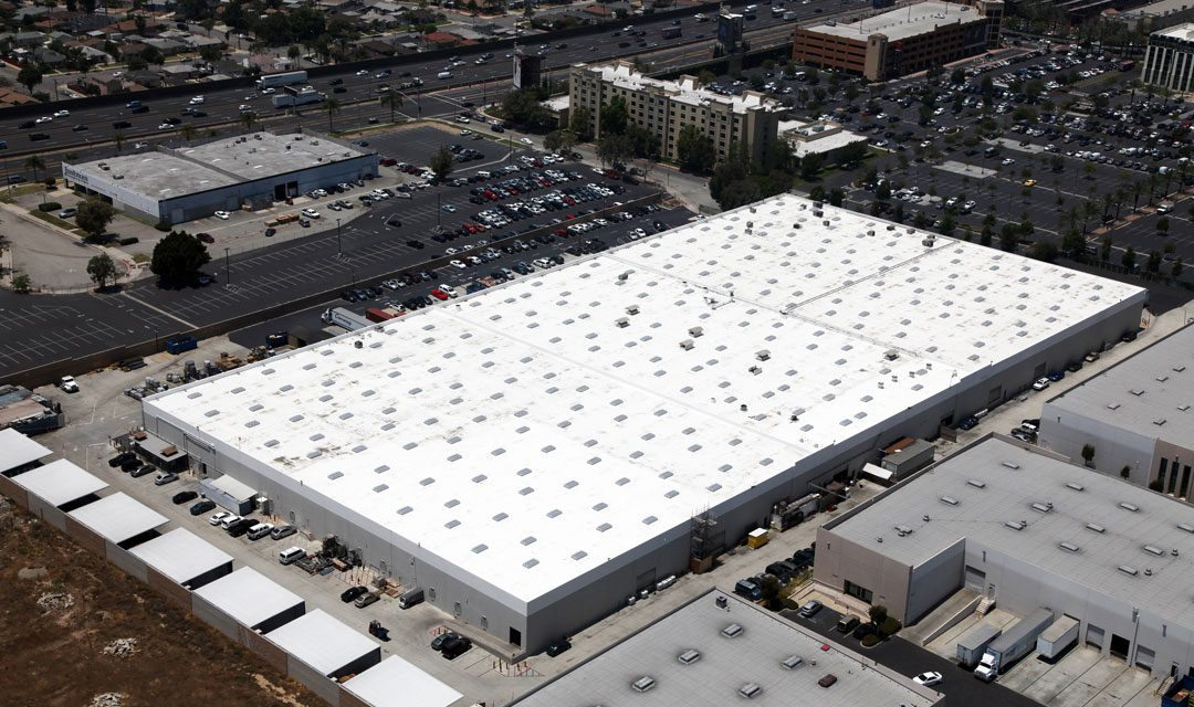 Captivating Highland Commercial Roofing Reroofs 210,000 Square Foot Commercial  Cosmetics Manufacturing Facility