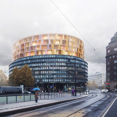 """Plug-In"" for Helsinki by Jari Lonka, Francesco Allaix and Lilja Mustila of L Arkkitehdit (Finland)"