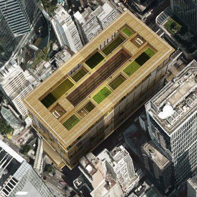 """""""The Green Intervention"""" for Hong Kong by Minjae Kim and Kwang Ja Oh of Kim Min Jae Architects (Hong Kong)"""