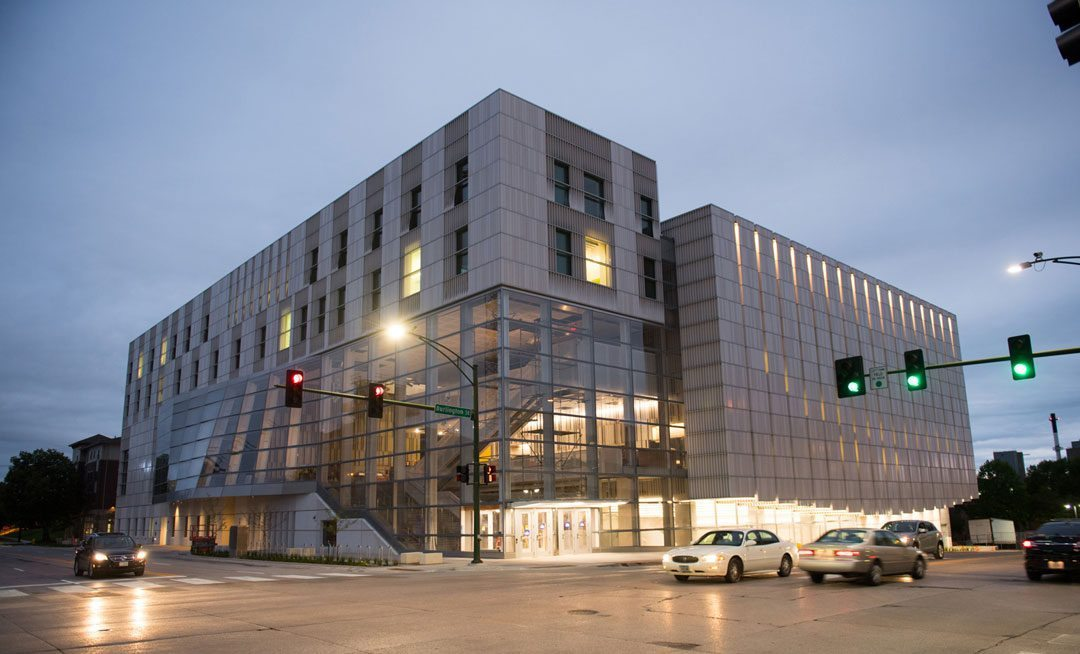 University of Iowa Voxman Music Building designed for resiliency, sustainability and acoustic performance