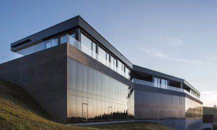 SageGlass dynamic glass installation at Bellavista Eye Clinic