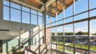Bristol Community College's John J. Sbrega Health and Science Building. Image: © Edward Caruso Photography. Courtesy of Sasaki