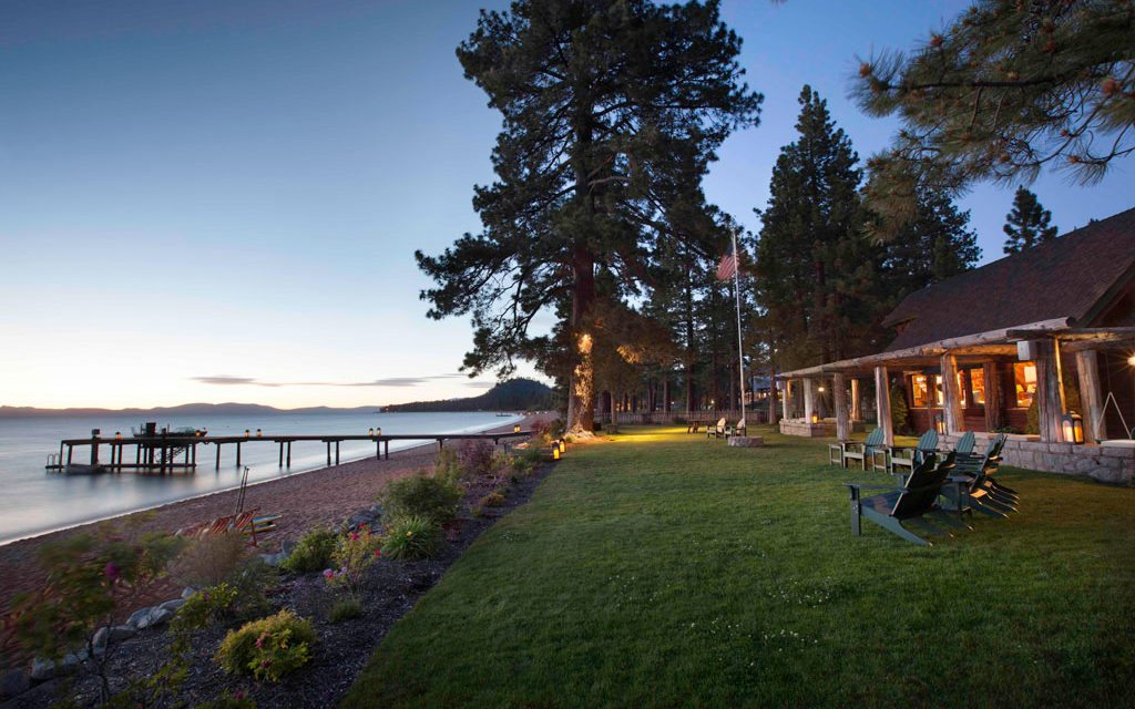 Sustainable private club restores historic julia morgan for Tahoe architects