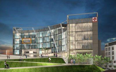 Pond   Michael Baker International JV Team's innovative 'JAXIS' design selected for new Jacksonville regional transportation center