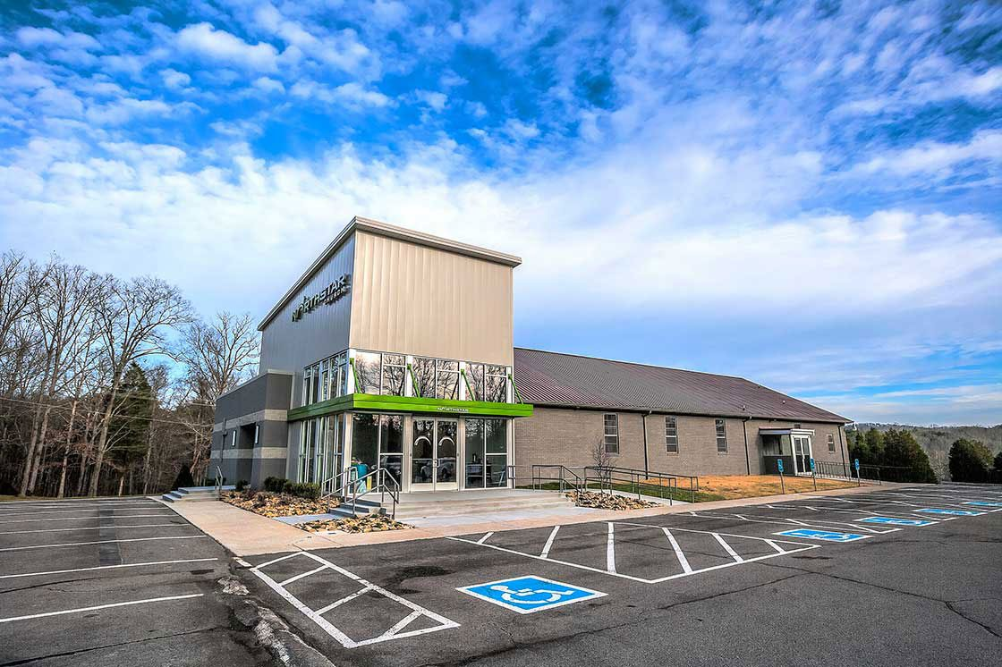 The Worship Facilities 2016 Solomon Award winning Northstar Church located in Knoxville, Tennessee, designed by Studio Four Design.