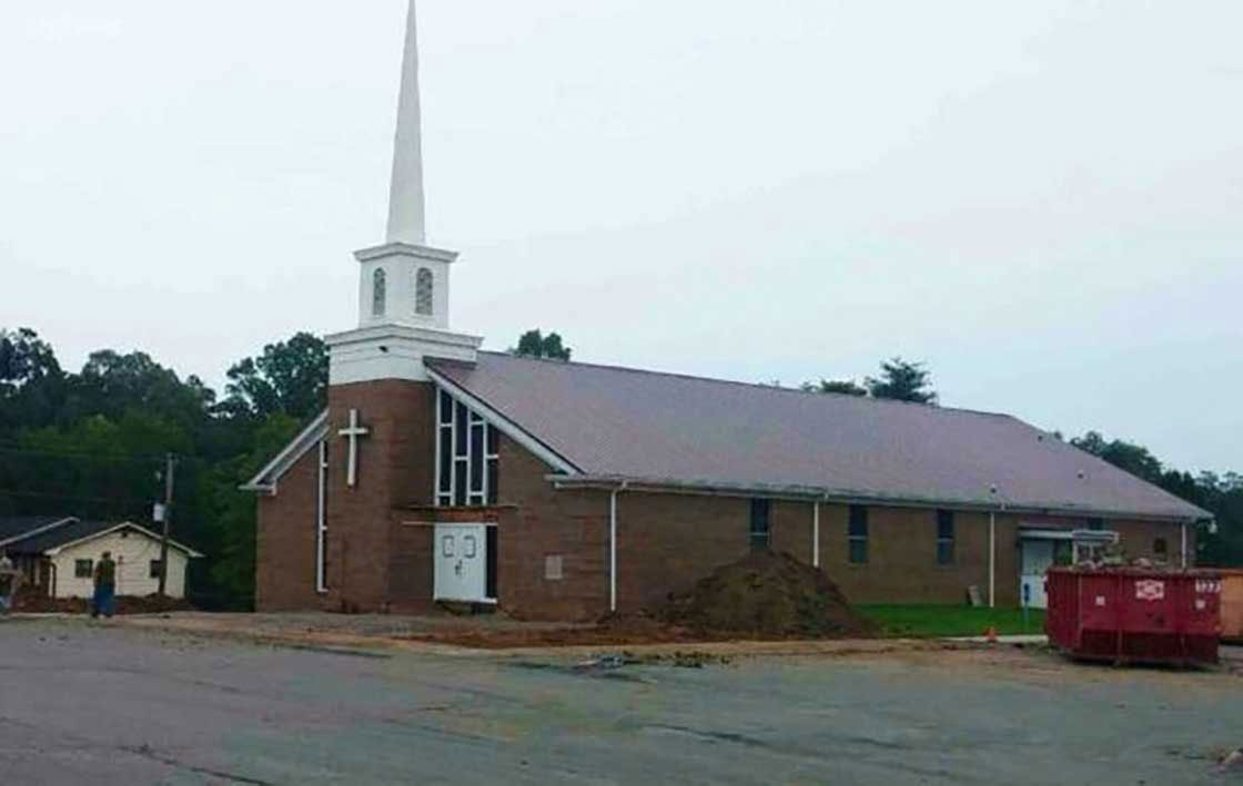 A before look at the building that would become Northstar Church before renovations began.