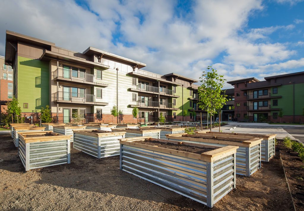 Orchards at Orenco. Credit: Casey Braunger, Ankrom Moisan Architects.