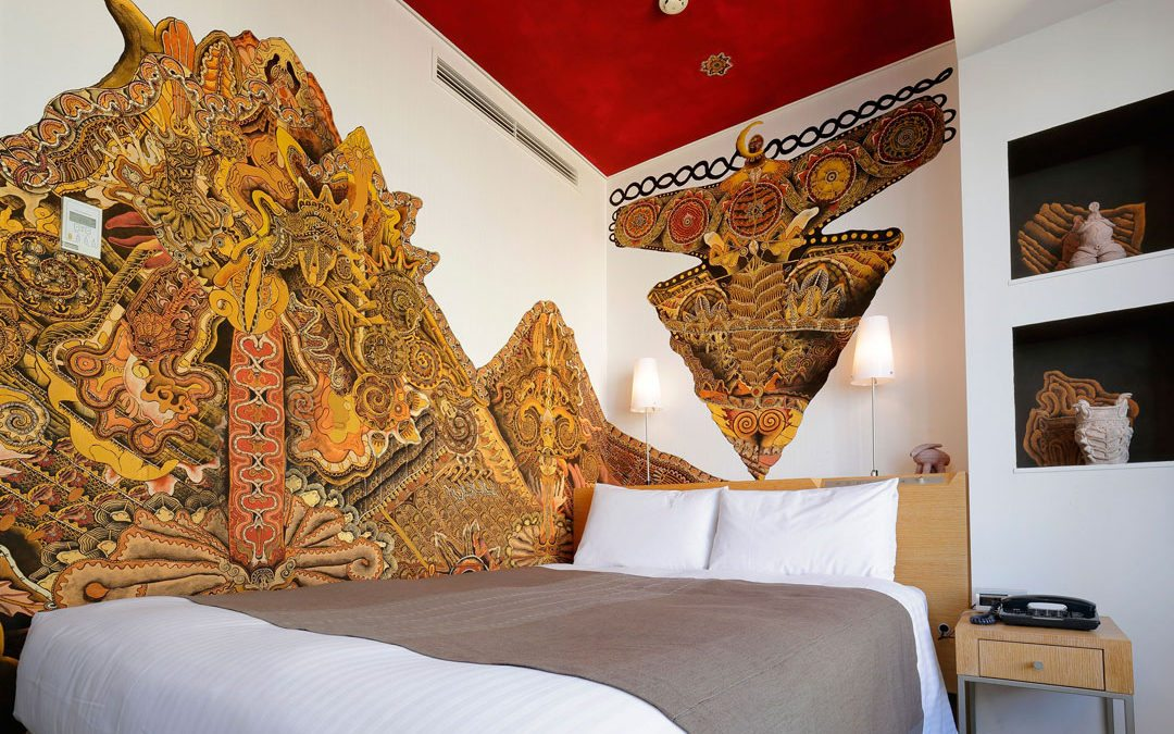 "New Artist Rooms ""Jomon"" and ""Japanese Angel"" completed at Park Hotel Tokyo"