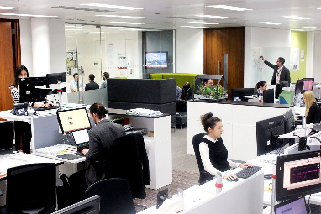 Integral London Office. Courtesy of Integral Group