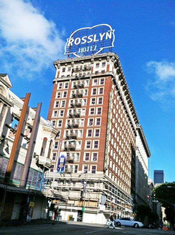 Beautiful Rosslyn Hotel U2013 Los Angeles U2013 Highland Commercial Roofing