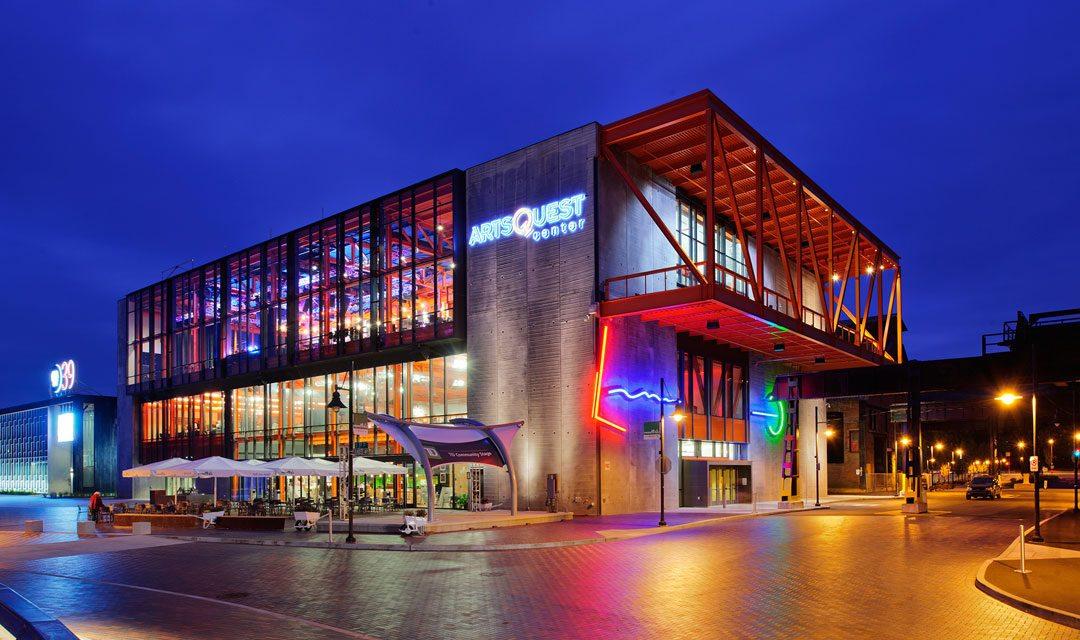 Tubelite helps ArtsQuest Center transform historic Bethlehem Steel Mill