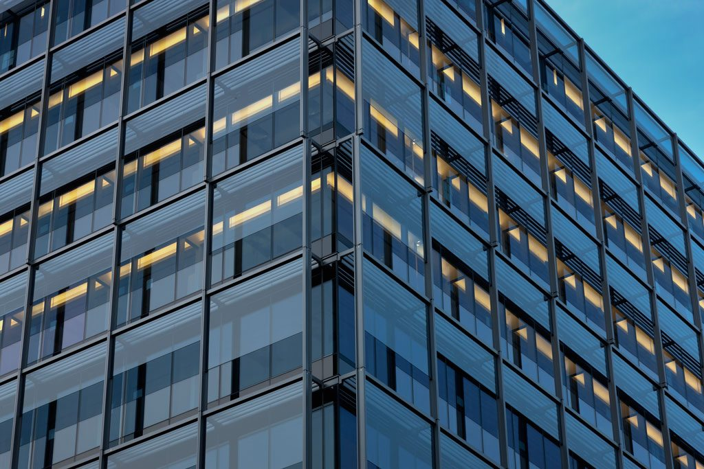 CityCenterDC office towers. Photo: Aker Imaging. Courtesy of Valspar.