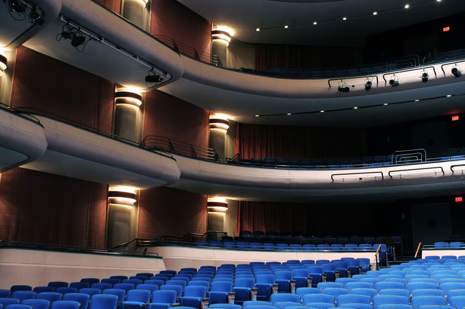 Acentech's Studio A completes audiovisual system design at the Straz Center