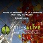 CitiesAlive®: 15th Annual Green Roof & Wall Conference – Awards of Excellence – Call for Submissions