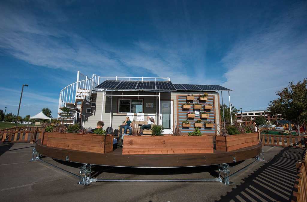 Santa Clara University's rEvolve House wins 2016 Green Builder Award