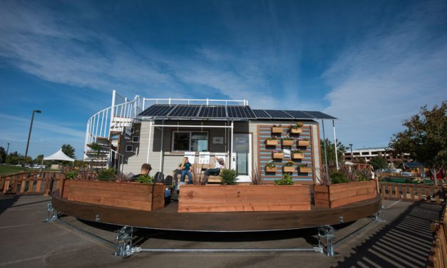 Santa Clara University's rEvolve House wins 2016 Green Builder Award