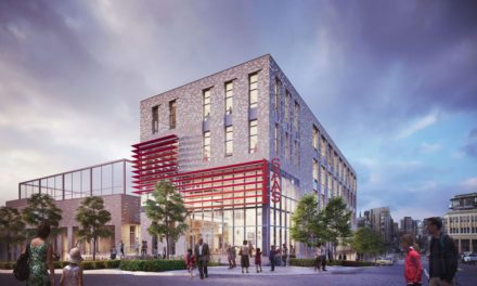 LMN Architects announce groundbreaking of first vertically-oriented middle school in Seattle