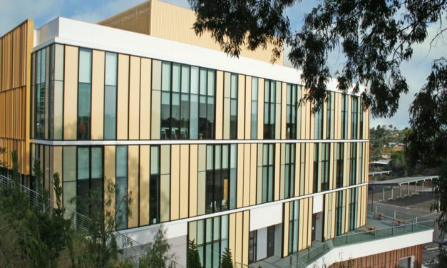 Fluoropolymer coatings brighten Mesa Community College Student Services Center