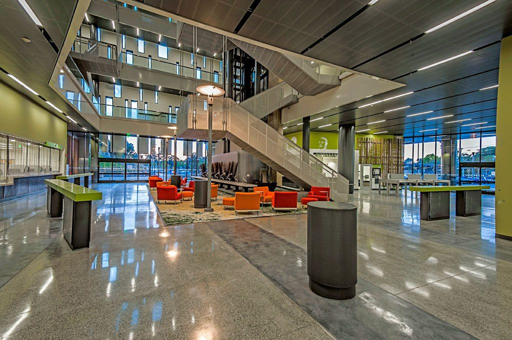 Mesa Community College Student Services Center, San Diego, Calif. Photo © Bryan Wayne Photography