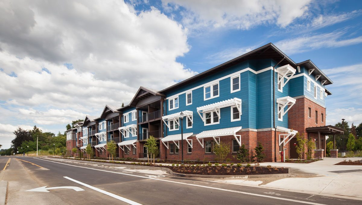 Orchards at Orenco, Phase II. Photo: Casey Braunger. Courtesy of Ankrom Moisan Architects