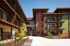 Orchards at Orenco, Phase I. Photo: Casey Braunger. Courtesy of Ankrom Moisan Architects