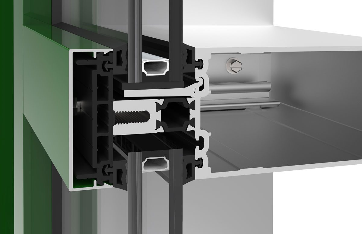 Technoform Bautec and YKK AP develop polyamide pressure plate system to increase thermal performance in curtain wall
