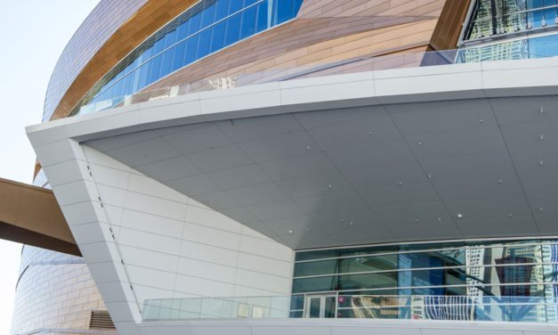 Custom Color Coatings from Valspar Culminate in Iconic Façade for New T-Mobile Arena