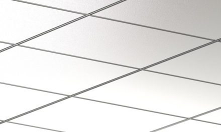 New Rockfon Integrity double reveal ceiling system