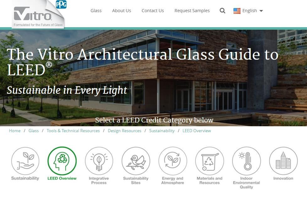 Vitro Architectural Glass Debuts Online Guide To Leed Certification