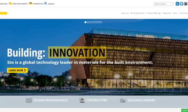 Sto Corp. launches engaging new website with enhanced tools and features