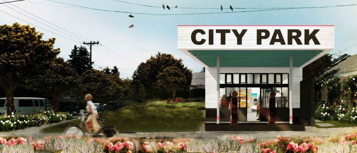 Mini Mart City Park, Seattle. Courtesy of goCstudio and SuttonBeresCuller.